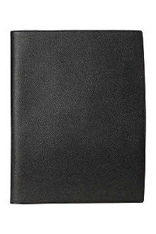 GRAF VON FABER-CASTELL Black leather writing pad A4
