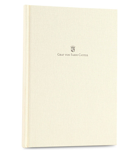 GRAF VON FABER-CASTELL Linen-bound A5 notebook