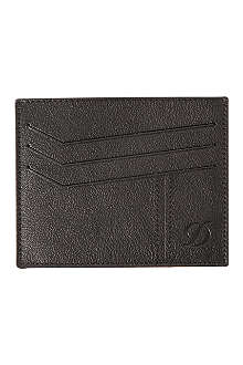 DUPONT Defi leather credit card holder