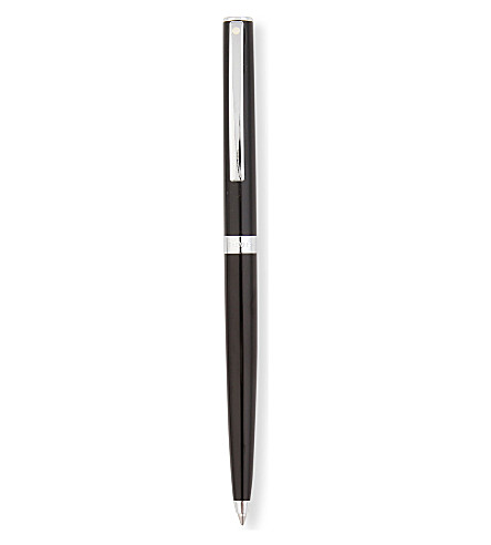 SHEAFFER Sagaris gloss black ballpoint pen
