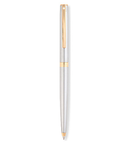 SHEAFFER Sagaris brushed chrome ballpoint pen