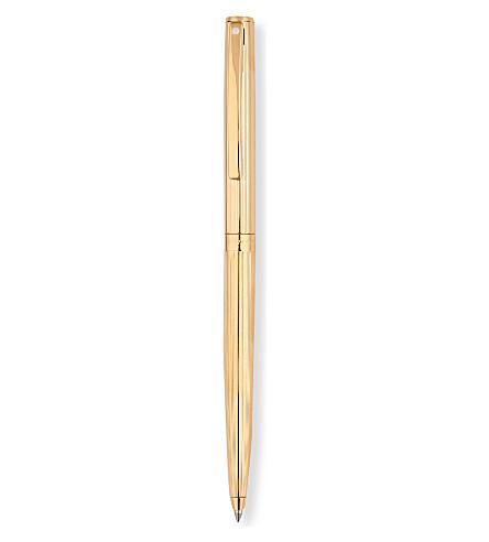 SHEAFFER Sagaris 凹槽金色圆珠笔