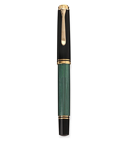 PELIKAN Souveran plunger m600 fountain pen green