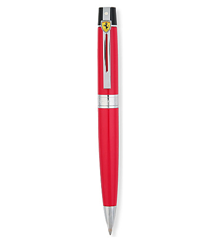 SHEAFFER Ferrari 100 series glossy black fountain pen