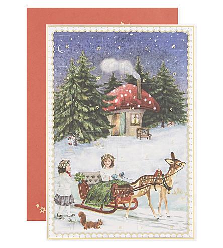 ADVENT CALENDARS Advent calender Christmas card