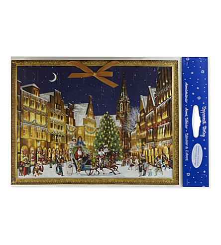 ADVENT CALENDARS Large traditional card advent calendar