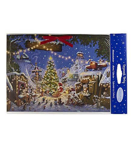 ADVENT CALENDARS Large traditional card advent calendar