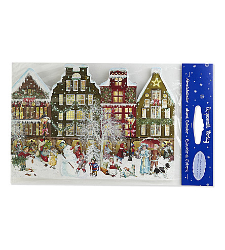ADVENT CALENDARS Stand-up Christmas advent calender