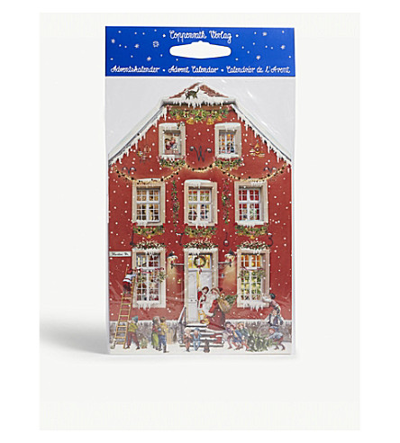 ADVENT CALENDARS Victorian house advent calender