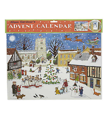 ADVENT CALENDARS Christmas in the Village advent calender