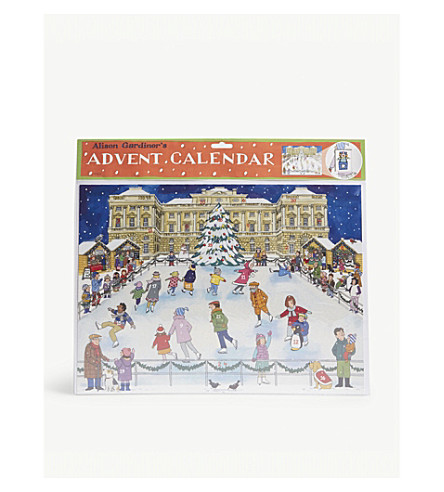 ADVENT CALENDARS Christmas Ice Skating advent calender