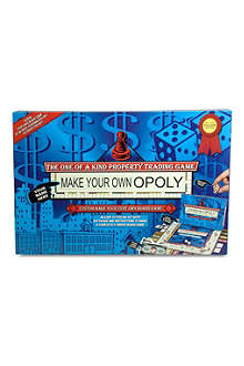 PAUL LAMOND TOYS & GAMES Make Your Own Opoly board game