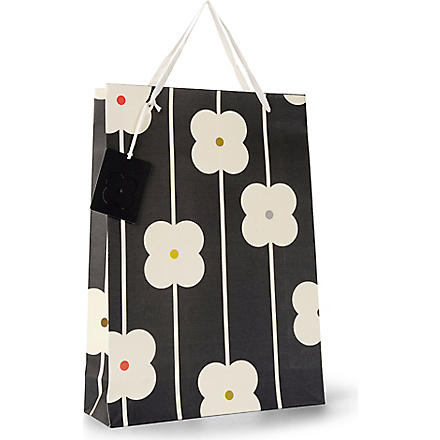 ORLA KIELY Abacus flower print carrier bag