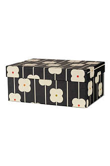 ORLA KIELY Large black abacus gift box