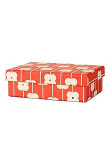ORLA KIELY Small orange abacus gift box