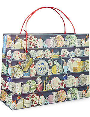 EMMA BRIDGEWATER Dresser shopper gift bag