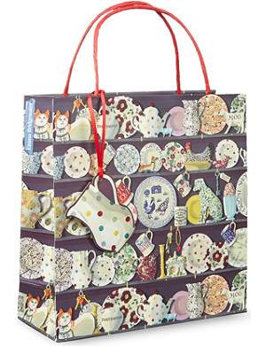 EMMA BRIDGEWATER Dresser medium gift bag
