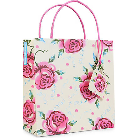 Rose gift bag 22cm