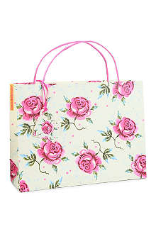EMMA BRIDGEWATER Rose gift bag