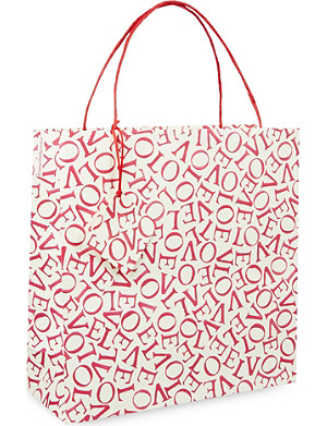 EMMA BRIDGEWATER Love large gift bag