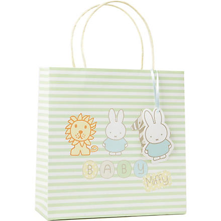 MIFFY Zoo Friends medium gift bag