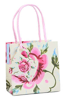 EMMA BRIDGEWATER Rose small gift bag