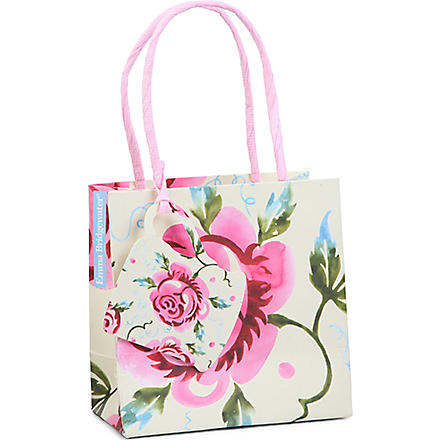 Rose small gift bag