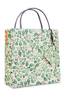 EMMA BRIDGEWATER Sweet Pea gift bag 22cm