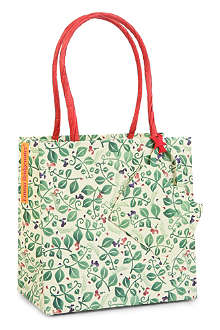 EMMA BRIDGEWATER Sweet Pea gift bag 13cm