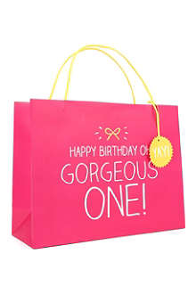 HAPPY JACKSON Happy Birthday Gorgeous One gift bag