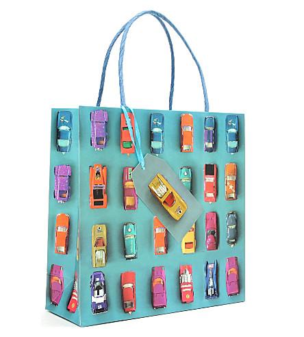 ELLA DORAN Cars gift bag medium