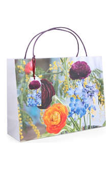 PENNY KENNEDY Ella Doran Watercolour Flowers gift bag