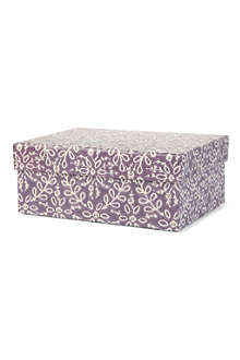 NINA CAMPBELL Damask gift box 22cm