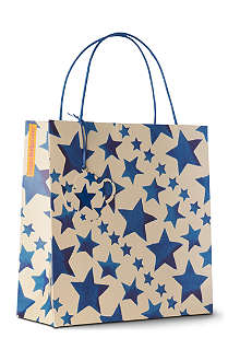 EMMA BRIDGEWATER Starry Skies gift bag 32cm