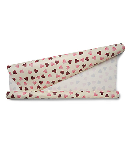 EMMA BRIDGEWATER Hearts wrapping paper