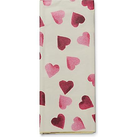 EMMA BRIDGEWATER Hearts tissue
