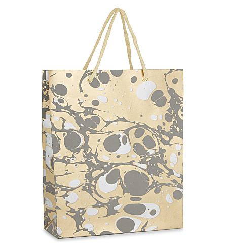 VIVID WRAP Marbled large gift bag