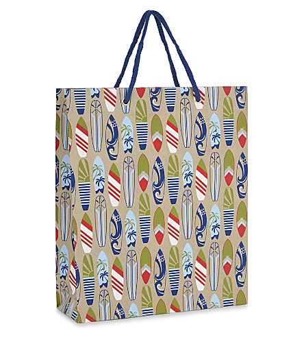 VIVID WRAP Surfboards large gift bag