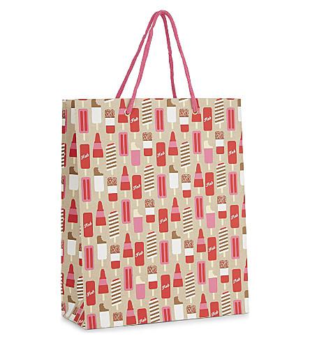 VIVID WRAP Ice lollies large gift bag