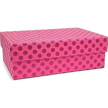 VIVID WRAP Glitter dot gift box