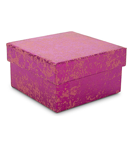 VIVID WRAP Crushed foil gift box