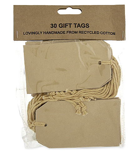 VIVID WRAP Gift tags 30 pack