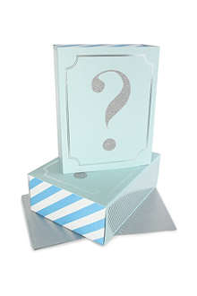 MERI MERI Question Mark pair of matchbox gift boxes