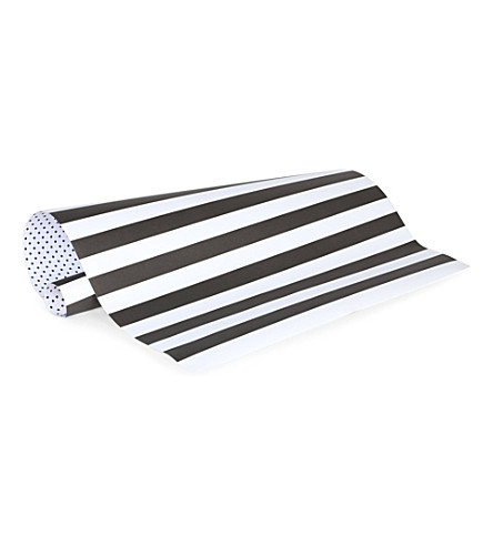 SUGAR PAPER Black and white reversible wrapping paper