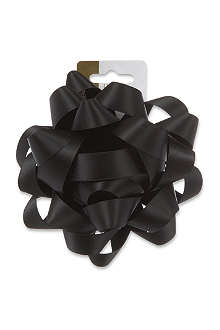 DEVA DESIGNS Jet black bow