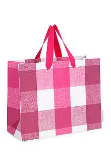 DEVA DESIGNS Quadretta medium gift bag