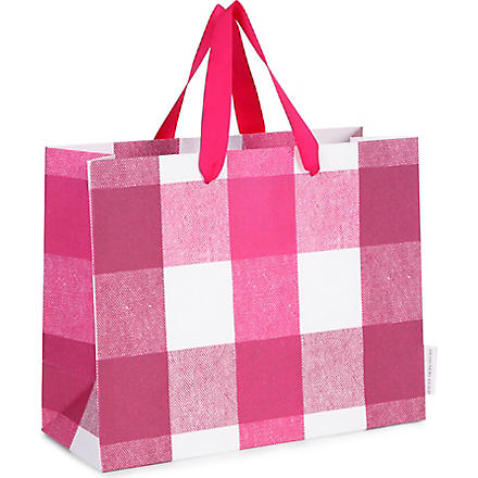 Quadretta medium gift bag