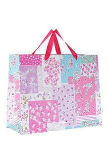 DESIGNERS GUILD Daisy Patch carrier bag large