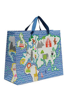 DESIGNERS GUILD Around the World gift bag