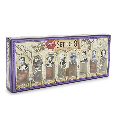 PROFESSOR PUZZLE Great Minds set of 8 puzzles